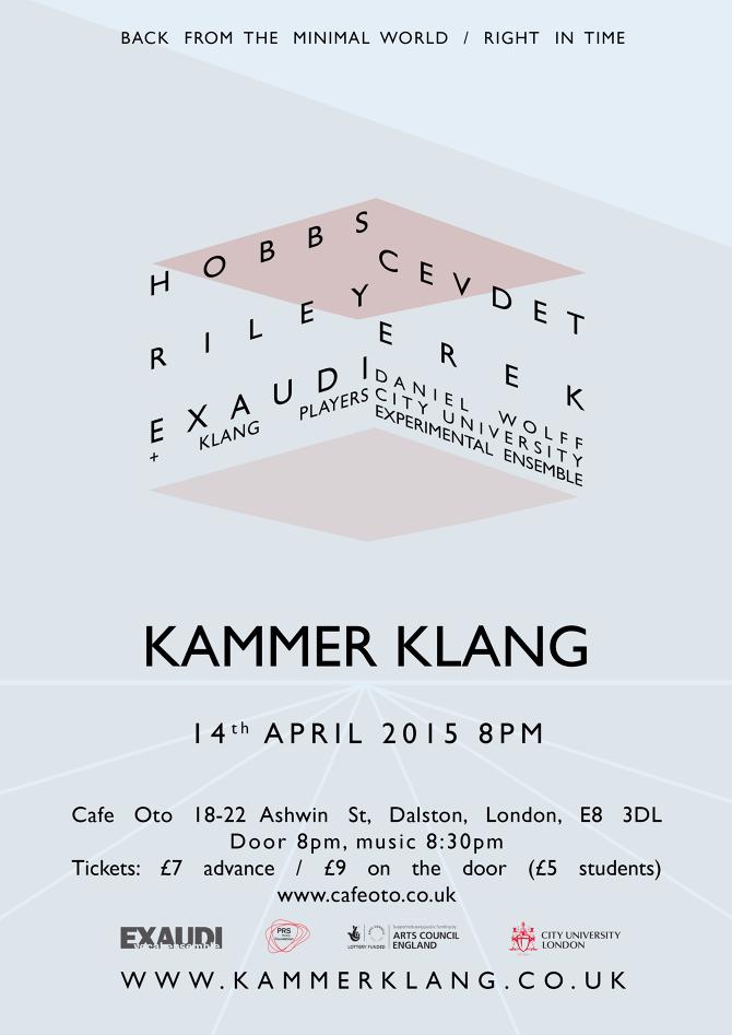 Kammer Klang 14 April