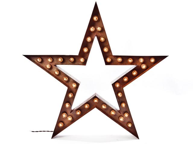 Светильник звезда своими руками